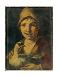 Young Farmer with Fowl Posters by Giacomo Francesco Cipper