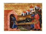 Saint Demetrio, Healing Leontius, Prefecture of Illyricum Art by Joani Cetiri