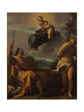 Virgin and Saints Rocco and Sebastiano Posters by Carlo Boononi