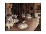 Ensayo en el escenario Pósters por Edgar Degas