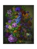 Blomster Giclee-tryk i høj kvalitet af Joseph Nigg