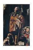 Saint Rocco Prints by Tanzio da Varallo