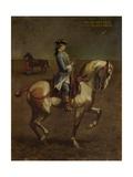 Equestrian Portrait of Count Carlo Matteo Litta Biumi Resta Art by Antonio Durini