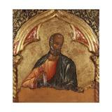Apostle Print by Onufri Qiprioti