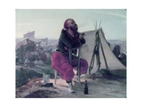 Zouave at a Bivouac Prints by Luigi Campini