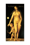 Venus and Cupid Prints by Lucas Cranach the Elder