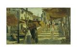 Chioggia Street Scene Posters by Vittorio Avanzi
