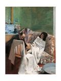 Pedicure Prints by Edgar Degas