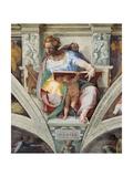 Sistine Chapel Ceiling, Prophet Daniel Prints by  Michelangelo Buonarroti