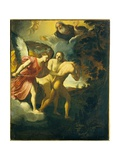 Expulsion from Paradise (Angel with Naked Adam and Eve) Posters