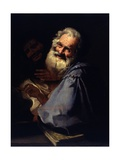 Heraclitus and Democritus Kunst af Andrea Pozzo