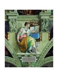 Sistine Chapel Ceiling, Erythraean Sibyl Poster by  Michelangelo Buonarroti