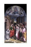 Vision of the Blessed Clare from Rimini Posters by Francesco Longhi
