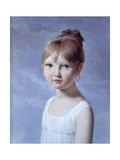 Portrait of the Daughter (4-6 Year Old Girl) Prints by Pierre-narcisse Guerin