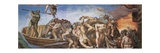 Sistine Chapel, the Last Judgment. Souls of the Damned Poster by  Michelangelo Buonarroti