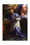 Madonna with Child and Saint Francis from Sales Giclee Print by Carlo Maratta