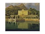 View of Villa Sommariva Posters by Jean-Joseph-Xavier Bidault