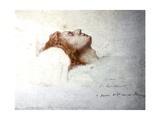 Dying Chopin Kunst af Teofil Kwiatkowsk