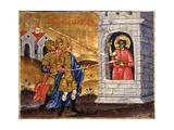 Martyrdom of Saint Demetrio Posters by Joani Cetiri