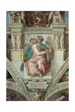 Sistine Chapel Ceiling, Prophet Isaiah Prints by  Michelangelo Buonarroti