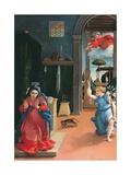 Recanati Annunciation Prints by Lorenzo Lotto