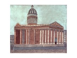 Pantheon, Paris Print by Louis Vivin