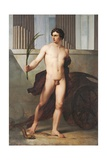 Triumphant Athlete Prints by Francesco Hayez