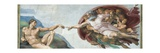 Sistine Chapel Ceiling, God to uches Adam with His Finger Art by  Michelangelo Buonarroti