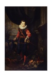 Young Man (Elegantly Dressed Child with Ruff and Sword) Prints by Giovanni Bernardo Carbone