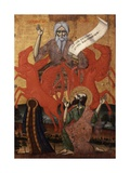 Prophet Elijah on a Chariot of Fire Giclee Print