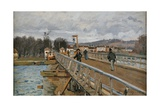Bridge in Argenteuil Prints by Alfred Sisley
