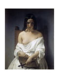 Meditation Poster by Francesco Hayez