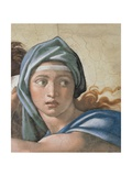 Sistine Chapel Ceiling, Delphic Sibyl's Face Giclee Print by Michelangelo Buonarroti