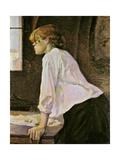 Laundress Posters av Henri de Toulouse-Lautrec