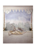 Decoration of a Room, Trompe L'Oeil Fresco Posters by Francesco Bagnara