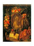 Allegory of Asia Prints by Erasmus & Jan Quellinus II & Kessel I