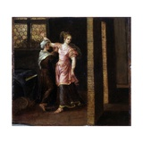 Judith Gets Ready to Meet Holofernes Giclee Print by Franck (Paolo Fiammingo) Pauwels
