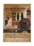 Story of Bayad and Riyad, 13-15th C. Iberian Islamic Miniature with Arabic Text Print