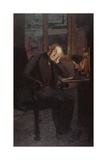 Carlo Rotta (In Brooding and Melancholy Pose) Posters by Giovanni Segantini