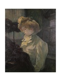 Milliner Láminas por Henri de Toulouse-Lautrec