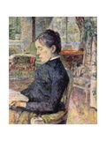 Countess Adele De Toulouse-Lautrec (Artist's Mother) Print by Henri de Toulouse-Lautrec