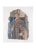 Bishop Louis of Toulouse Prints by  Piero della Francesca