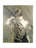 Cleo De Merode, Famous Dancer at the Opera in Paris Giclee Print by Giovanni Boldini