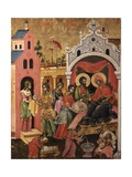 Nativity of the Virgin Poster by Athanas & Kostantin Zografi