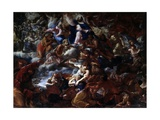 Last Judgment (Christ, Mary, with Blessed) Giclee Print by Domenico Maria Canuti