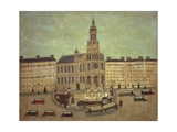 Church of Trinity, Paris Giclee Print by Louis Vivin