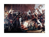 Distribution of the Flags with Imperial Eagle (Dec. 5, 1804) Posters by Jacques-Louis David