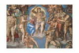 Sistine Chapel, Christ of the Last Judgment Giclee Print by Michelangelo Buonarroti