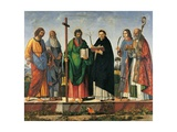 Six Saints Posters af Vittore Carpaccio
