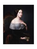 Baroness Angela De Reinelt Prints by Felice Schiavoni